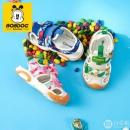 Bobdog 巴布豆 软底宝宝机能凉鞋 多色59.9元包邮(需领券)