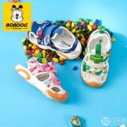 Bobdog 巴布豆 软底宝宝机能凉鞋 多色