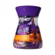 怡口莲 巧克力味牛奶夹心太妃糖 318g/盒28元(下单立减)