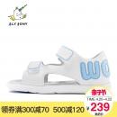 FlyPony舒适透气露趾女小中童宝宝凉鞋 FC18SN2L09 234元¥234