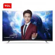 TCL 55T3 55英寸4K 曲面液晶电视