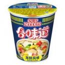 限上海:Nissin 日清 合味道 海鲜风味 84g *2件5.5元(合2.75元/件)