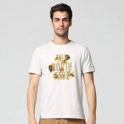 THE NORTH FACE 北面 男士户外透气短袖T恤 NF0A3CJJ 2色