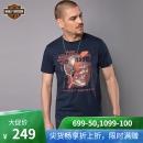 HARLEY-DAVIDSON/哈雷戴维森 男士印花T恤¥249