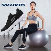 斯凯奇女鞋2019春季新款网面低帮休闲鞋健步鞋跑步鞋运动鞋14804  券后369元
