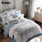 多喜爱家纺春夏新品提花四件套欧式床品宫廷风床单套件花羽庭 499元¥499