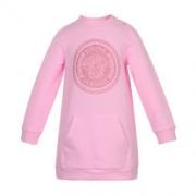VERSACE YOUNG 范思哲 YVGAB167 女童粉色棉纤连衣裙 871元包邮(1件5折)