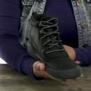 限US5码,Clarks 其乐 Gilby Mckinley 女士真皮防水雪地靴 Prime会员免费直邮含税到手226元