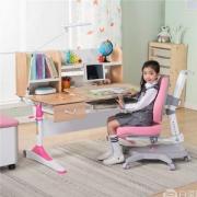 心家宜 进口实木手摇机械升降儿童学习桌椅套装M173+M215 包安装+送原装椅套+晒单送护眼灯