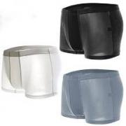 JACK CLAUDE 男士冰丝内裤 3条装14.9元包邮(需用券)