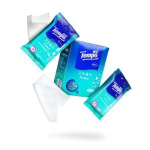 Tempo 得宝 卫生洁肤湿巾 5包*12片 *5件 +凑单品