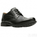 Clarks 其乐 男士Curington Wing雕花正装皮鞋 Prime会员免费直邮含税到手315.65元