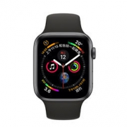 Apple 苹果 Apple Watch Series 4 智能手表 (深空灰铝金属、GPS+蜂窝网络、44mm、黑色运动表带) 3999元包邮3999元包邮