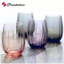 Pasabahce 帕莎 欧式彩色玻璃杯380ml*6只 送托盘29元包邮(需领券)