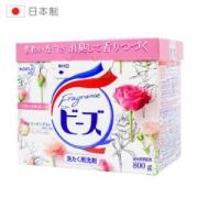 kao 花王 含天然柔顺剂 洗衣粉 800g14.9元