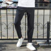 LI-NING 李宁 男士跑步系列 AYKN019 速干运动裤