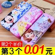 Disney 迪士尼 双层文具盒 多款可选 *3件¥10