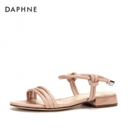 Daphne 达芙妮 1018303048  女士平底凉鞋 69元包邮¥69