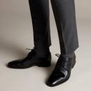 限US7码,Clarks 其乐 Gilman Lace 男士真皮德比鞋 Prime会员免费直邮含税到手359.95元