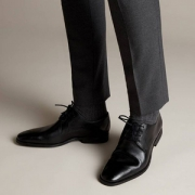 限US7码,Clarks 其乐 Gilman Lace 男士真皮德比鞋 Prime会员免费直邮含税