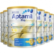 88VIP:Aptamil 澳洲爱他美 白金版 婴幼儿奶粉 3段 12-24个月 900g*6罐 1015.59元含税包邮 ¥1016¥975