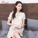 dingguagua 顶瓜瓜 t70436-Q 女士纯棉睡裙 59元(需用券)¥59