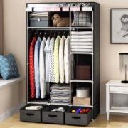 HomeBi 家世比 HBY1690D 简易布衣柜 *2件