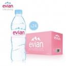 临期品、至七月:Evian依云天然矿泉水500ml*24瓶*2件172.5元包邮(满减优惠)