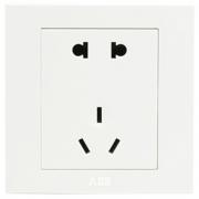 ABB 永致系列 AH205 五孔插座 *2件10元包邮