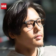 Han 汉 HD49325 中性款防蓝光防辐射TR眼镜框 可免费配度数镜片新低38元起包邮(需领券)