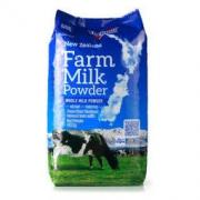 新西兰 进口奶粉纽仕兰牧场调制乳粉(全脂) 400g袋装 *4件 156.6元包邮(合39.15元/件)