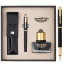 京东PLUS会员:HERO 英雄 1801 铱金钢笔/墨水笔组合套装 黑砂 119元包邮(满减)119元包邮(满减)