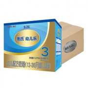 Wyeth 惠氏 S-26 金装幼儿乐 奶粉 3段 1200g*4盒 551.7元包邮(需用券)¥552