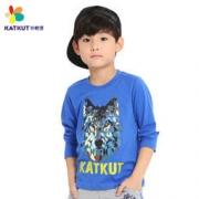 Katkut 咔酷德 男童长袖T恤 19.9元