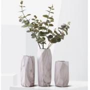 Hoatai Ceramic 北欧家居 装饰品 陶瓷花瓶 摆件 石纹几 35元包邮