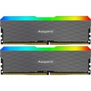 Asgard 阿斯加特 洛极W2 RGB 3200频率 DDR4 台式机内存条 16GB(8Gx2) 599元包邮¥599