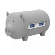 ORICO 奥睿科 H4018-U3 猪年纪念款 猪形USB集线器