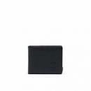 Herschel Supply Co. 中性 Hank + Coin Leather RFID 10406 黑色卵石皮革钱包 128元含税包邮128元含税包邮