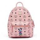 MCM MWK7SXL07PZ001 女士浅粉色兔子图案双肩包 3000元包邮(需用券)¥3000