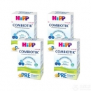 Hipp 喜宝 德国进口 有机婴幼儿配方奶粉Pre段 600g*4盒274.55元包邮(限PRIME会员)