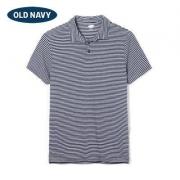 OldNavy 男子条纹POLO衫39元/件(3件3折后)