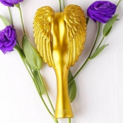 Tangle ANGEL 天使按摩美发梳 中号金色*4把 152元包邮包税