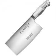 SHIBAZI 十八子作 S2504-A 全钢斩切刀 刃长17.6cm *4件