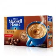 麦斯威尔 特浓速溶咖啡 30条 390克/盒 *5件 +凑单品