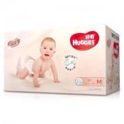 HUGGIES 好奇 铂金装 婴儿纸尿裤 M92片 *4件470元包邮(需用券,合117.5元/件)