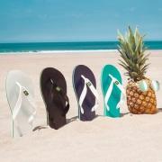 巴西原产 Dupe 天然橡胶 男宽带人字拖鞋 59元包邮 平常99元