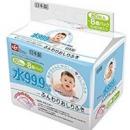 LEC 99.9%纯水湿巾 宝宝用湿巾 80抽*8包会员752日元+定期购85折