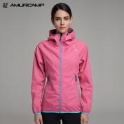 Amurcamp 1.5万透湿1万防水 女防暴雨级跑步冲锋衣 199元包邮 正价499元¥199