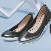 ECCO 爱步 Bluma布鲁玛系列 轻巧女士平跟鞋 Prime会员免费直邮含税