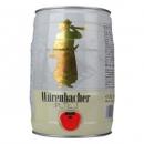 Wurenbacher 瓦伦丁 小麦啤酒 5L 单桶  *2件138.6元包邮(双重优惠)